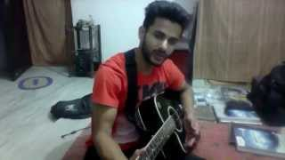 Romantic Hindi Love Song On Guitar ..