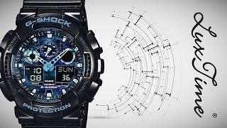 LuxTime.pl zegarek CASIO GA-100CB-1AER