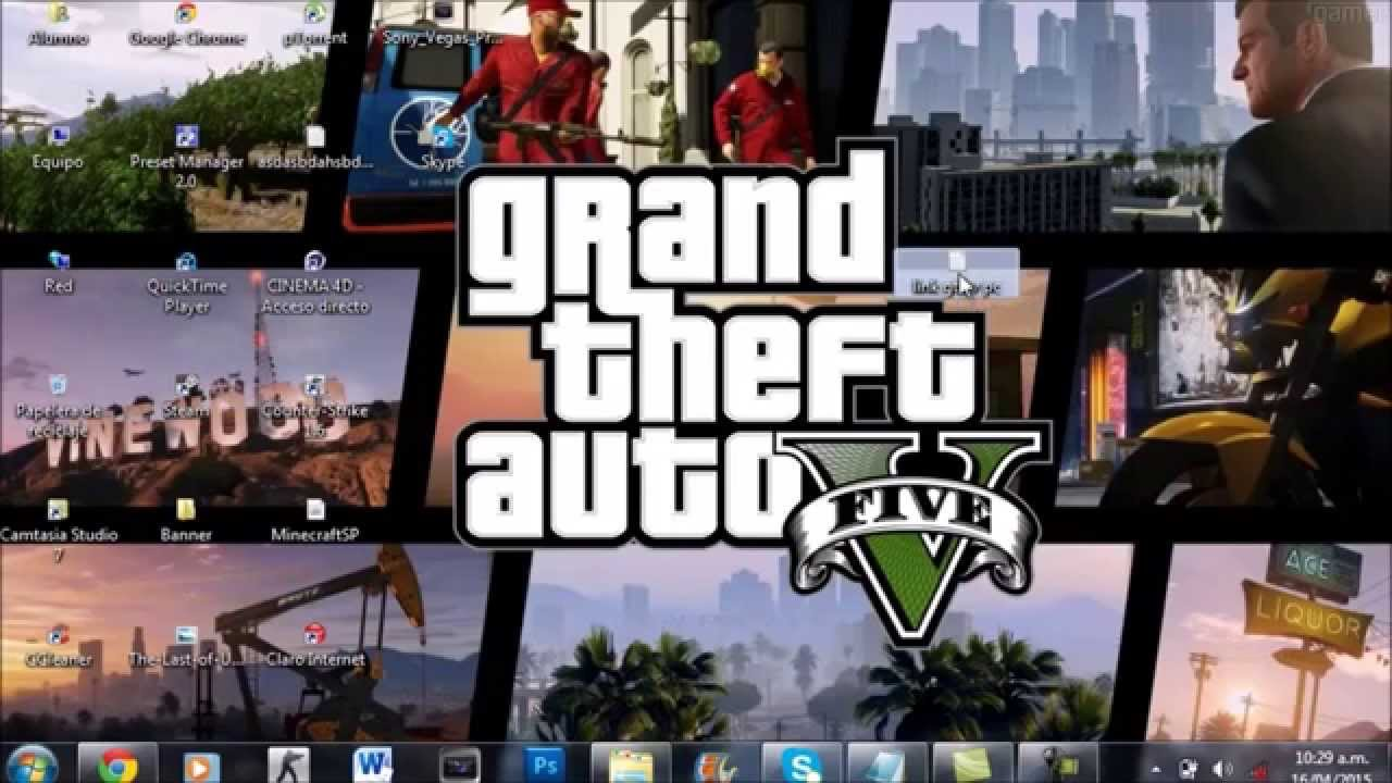 Descargar Grand Theft Auto V [PC] [Español] [Mega ...