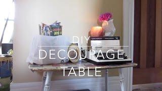 Diy Table | Using Vintage Photos