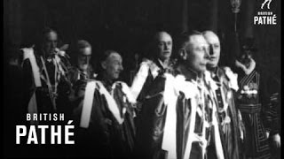 King And Duke Of Connaught At Order Of The Bath Installation (1914-1918)