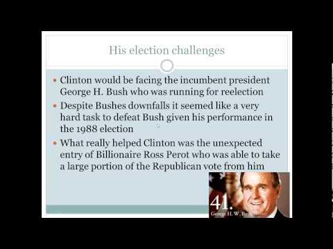 History of Bill Clinton