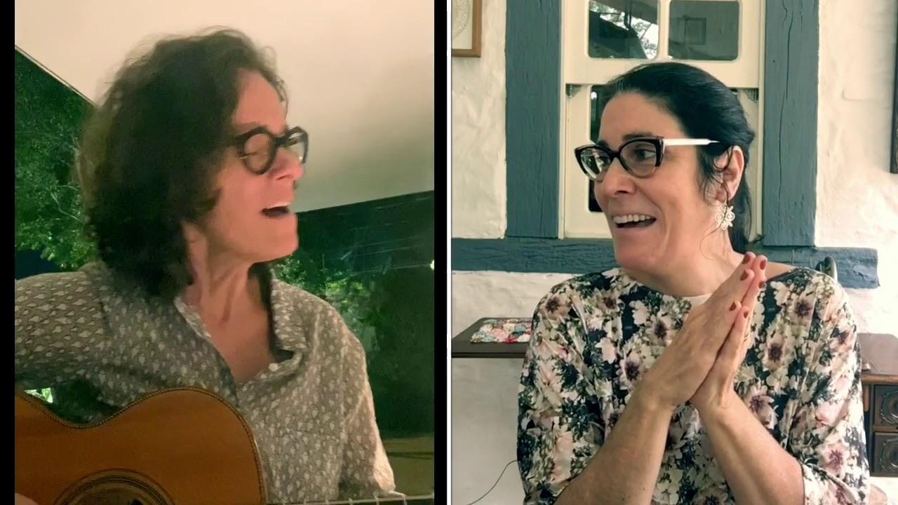 FELIZ CAMINHAR   com Mônica Salmaso e Zélia Duncan - Ô DE CASA #20