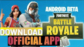 HOW TO DOWNLOAD FORTNITE BATTLE ROYALE ON ANDROID|| THUNDER TECH'S LTD.