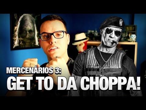 Os Mercenários 3: Get to da Choppa! - Vlog do TN 38