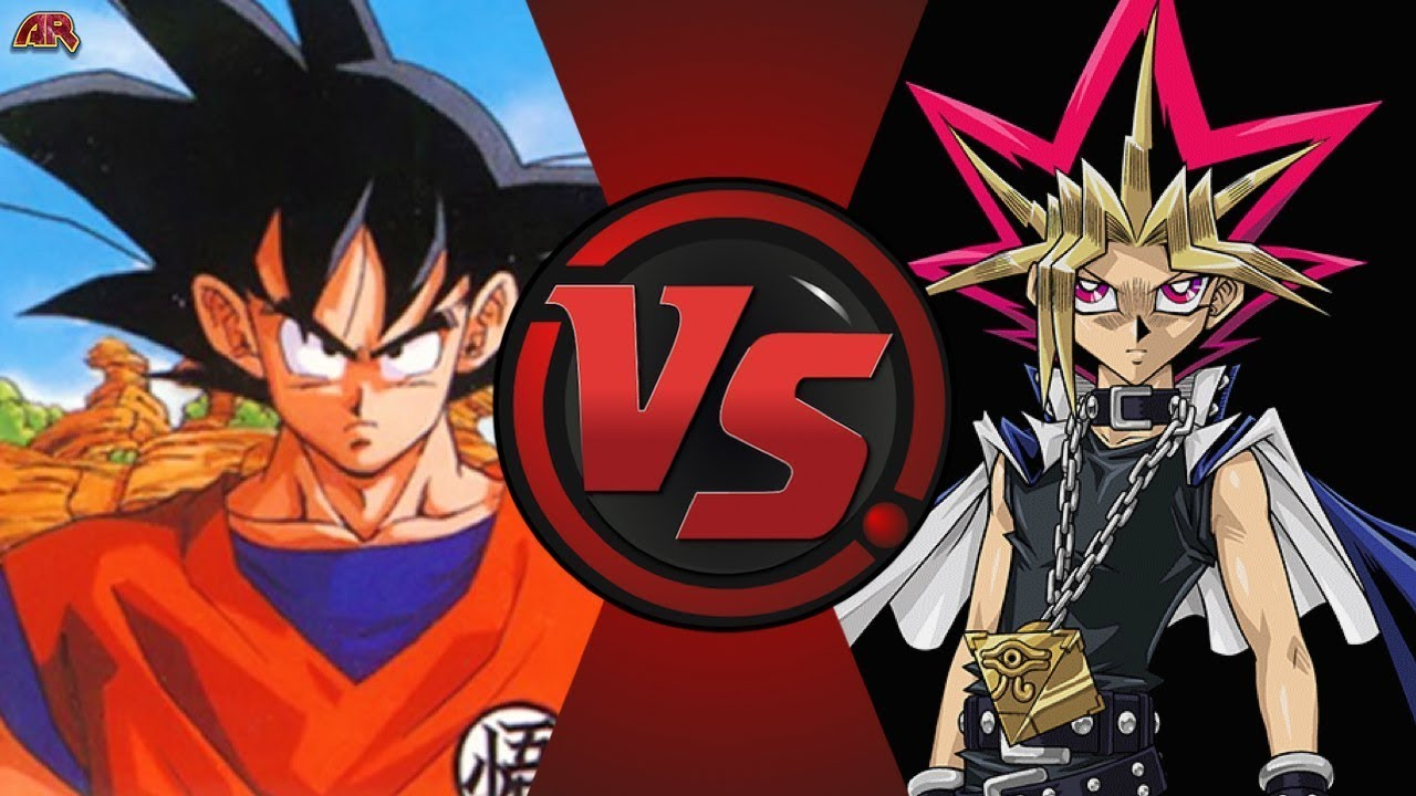 Son Goku Vs Yami Yugi Vsyu Gi Oh Vs Dragon Ball Z Cartoon Fight