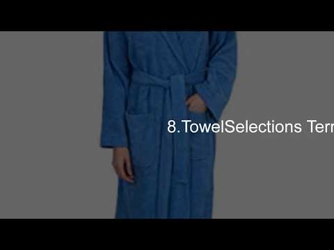 Top 10 Best Bath Robes Reviews & Lists