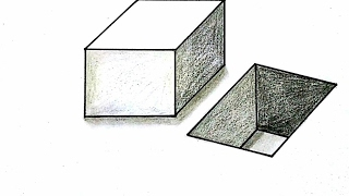 Crazy Art - how to draw - cube and cube Hole (Basic) -  how to draw 3d picture | Usa