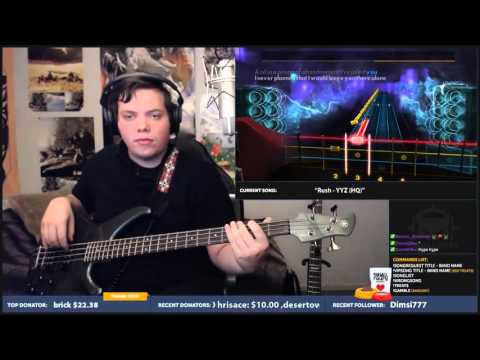 Red like roses part 2 by Jeff Williams / Rooster Teeth Bass cover 100% (Rocksmith 2014)