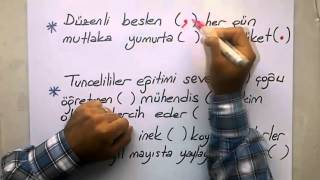 Virgül / Noktalı Virgül - TERLETEN İKİLİLER / ÖNDER HOCA