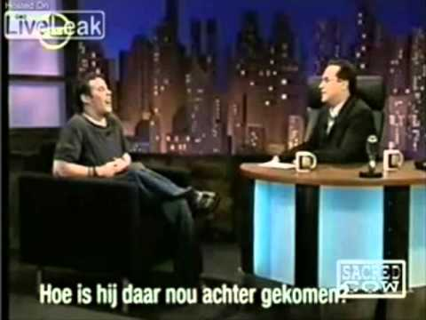 Steve-O On TV In Amsterdam