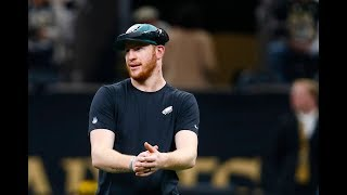 Eagles' Carson Wentz on decision to rest due to injury