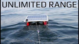 My DIY R/C Boat Pulled me 20 Miles!!!