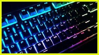 Corsair RGB Keyboard K68 Unboxing