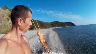 3 Способа Жарить Рыбу на углях. Как добыть огонь стеклом. Приготовить картофель рыбу на костре
