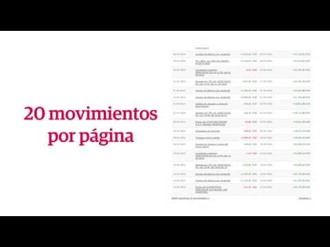 ¿Cómo consultar los movimientos de tus cuentas en Banca por Internet?