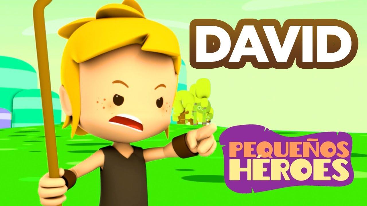 Historias De La Biblia Para Niños David Pequeños Héroes Youtube