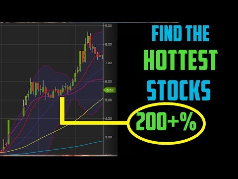 How To Find The Hottest Penny Stocks Every Day | Step By Step