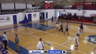 NCCAA Basketball Mid-East Regional Final: Bluefield vs. Alice Lloyd: 4:00 PM