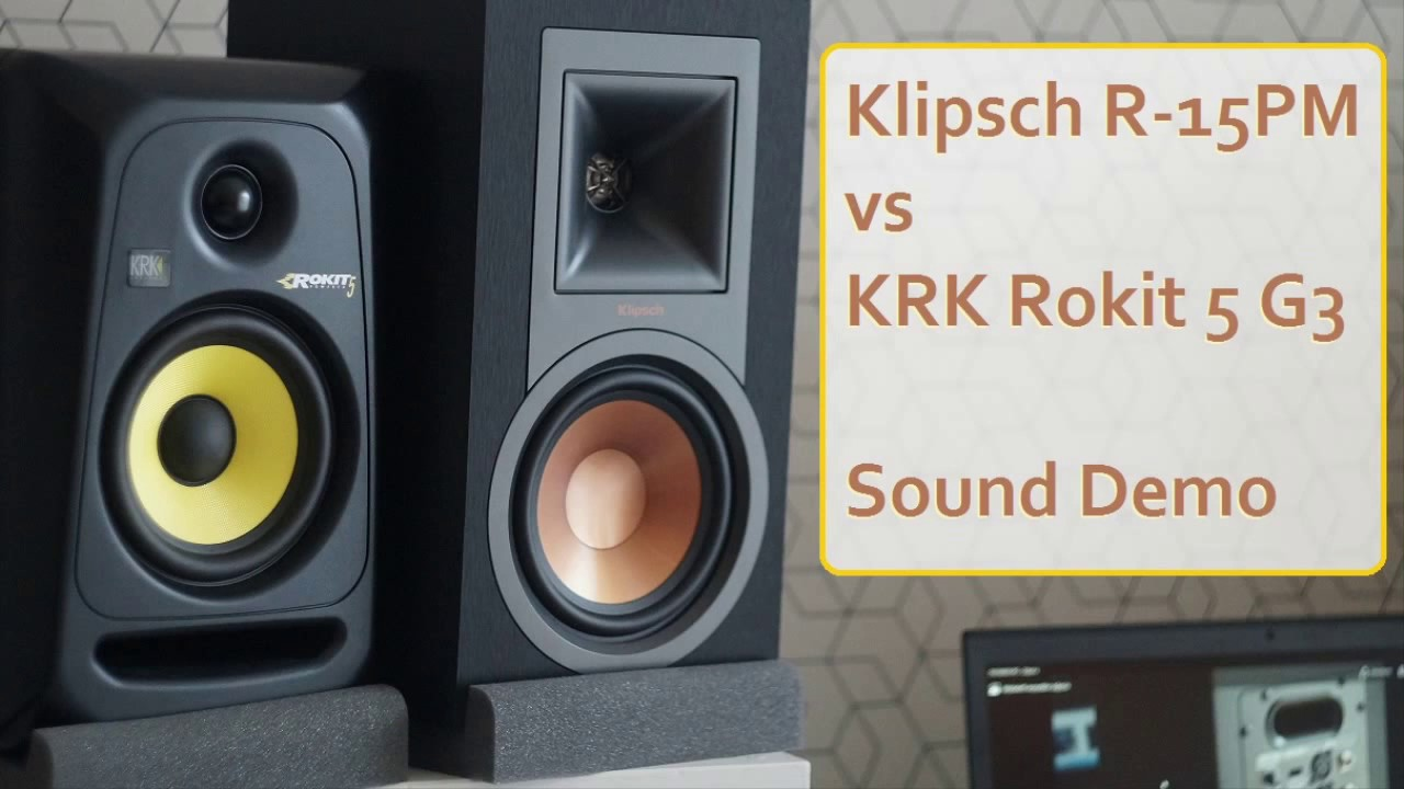 Klipsch R-15PM powered speakers review  Can they beat my