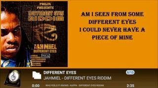 JAHMIEL - DIFFERENT EYES LYRICS 2016