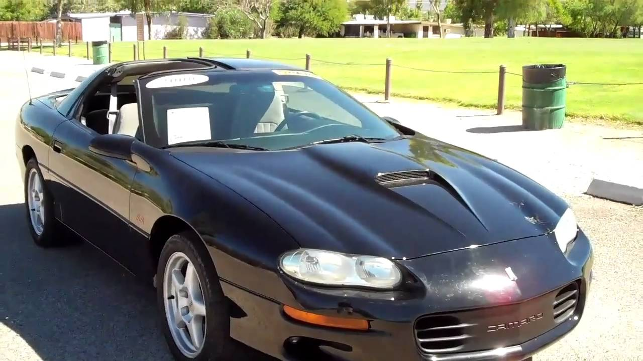 2000 chevy camaro z28 ss fast 320hp sn 17853 youtube. Black Bedroom Furniture Sets. Home Design Ideas