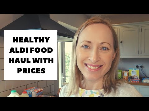 HEALTHY ALDI FOOD HAUL WITH PRICES | HEALTHY EATING IDEAS