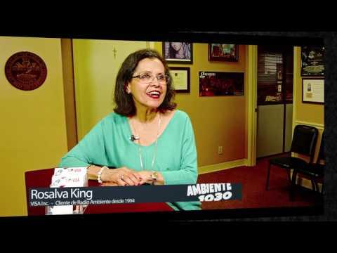 Rosalva  King VISA Inc Radio Ambiente 1030 WGSF Memphis TN