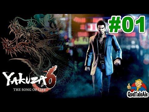 YAKUZA 6 The Song of Life - Gameplay ITA -#01 - PROLOGO