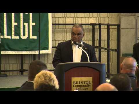 Roland Fomundam - recipient of MLK Fellowship award