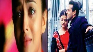 सलमान की बातें सुनकर भीगी ऐश्वर्या की आंखें…!   When Salman Khan Left Aishwarya Rai Teary-Eyed