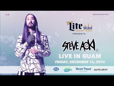 Steve Aoki LIVE IN GUAM | Teaser