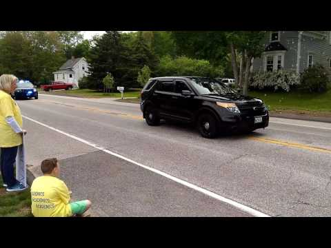 Greely High School Class of 2017 Bus Parade -- June 4, 2017