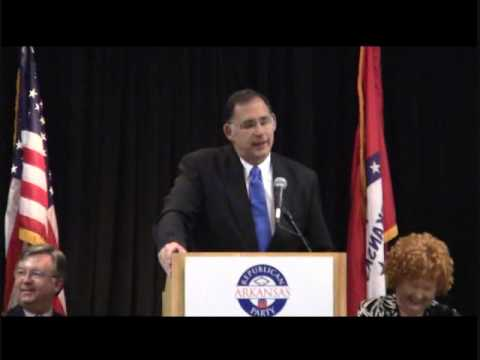 Rep. John Boozman at ARGOP State Convention