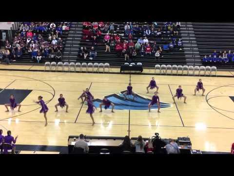 DanceFullOutMN - Benilde St Margaret's Dance Team Jazz 2016