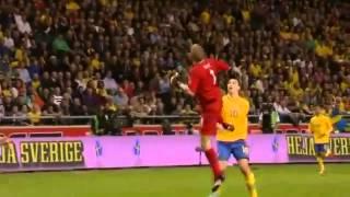 zlatan ibrahimovic super goal vs england sweden vs england 4 2 14 11 2012