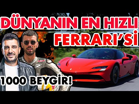 Kenan Sofuoğlu'nun Ferrari'si |1000 beygirlik SF90 Stradale