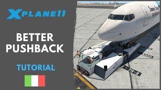 X plane 11 pushback