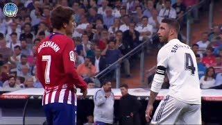 Así fue el reencuentro entre Sergio Ramos y Griezmann