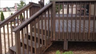 2x6 Port Orford Cedar Decking With Trellis