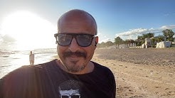 Ein spontanvideo am Strand von Side beim Sport