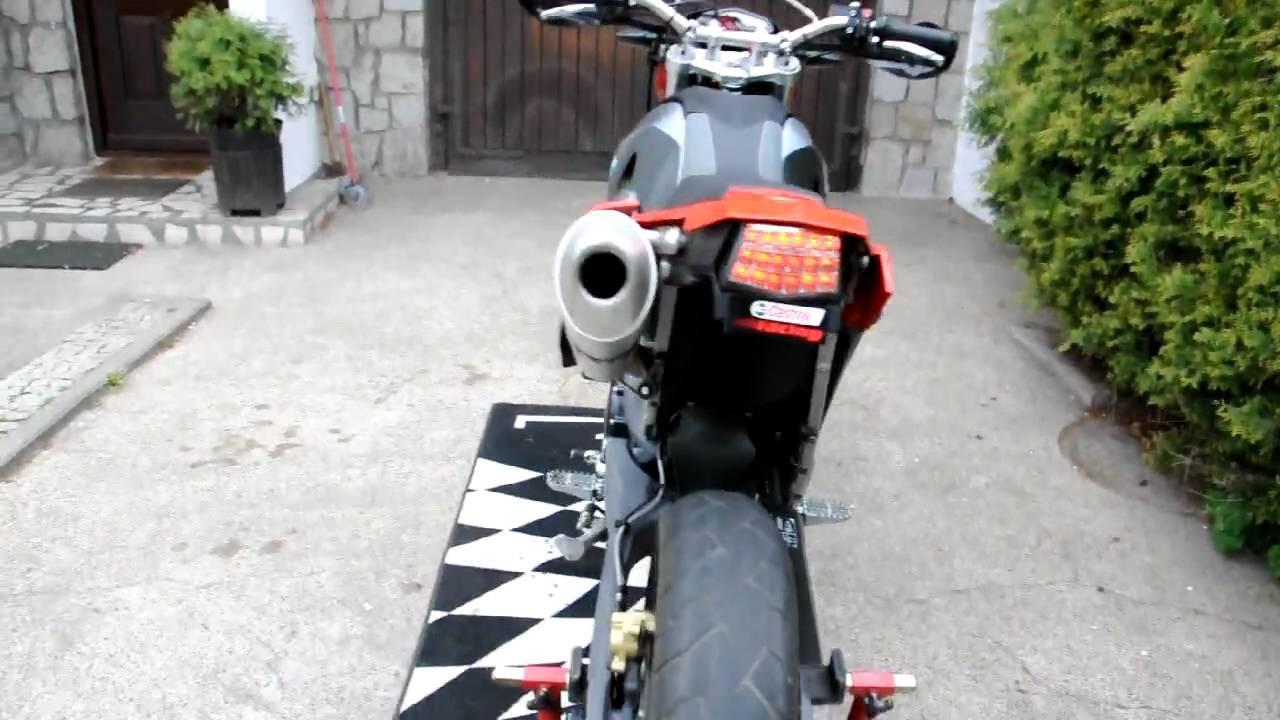 Bmw G650x Moto Supermoto Remus Youtube