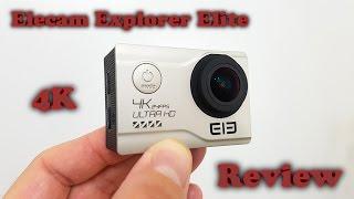 Elephone EleCam Explorer Elite 4K WiFi Action Camera REVIEW