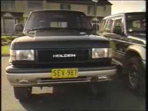 1992 Holden Jackaroo LS vs Mitsubishi Pajero GLS comparison
