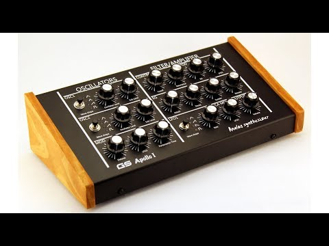 GS Music Apollo / Zeus Synth - First In USA - Sean McKee Plays Leads