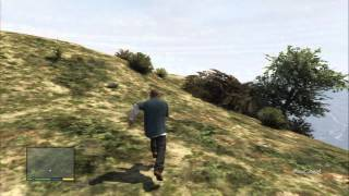 Grand Theft Auto V - Spaceship Parts Locations / Collectibles: #45 Mount Josaihah Cliff PS3