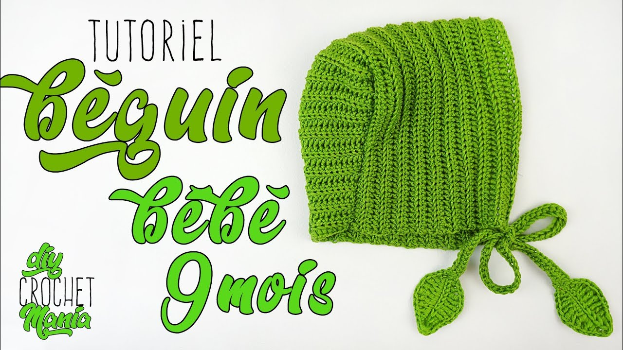 Tuto Crochet Comment Faire Un Beguin Bonnet Bebe Facile 9mois