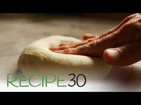 How To Make Perfect Pizza Dough Using An Electric Mixer - By RECIPE30.com