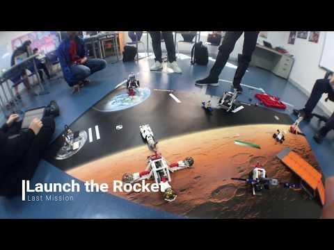 LEGO® MINDSTORMS® Education EV3 Space challenge  Universal American School Dubail