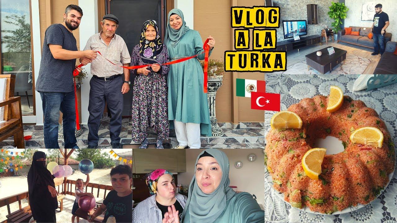 Fiesta De Inauguración 🎉 Compramos Nuestra Sala 🏠 Receta De Kısır 🇹🇷 | Mexicana En Turquía